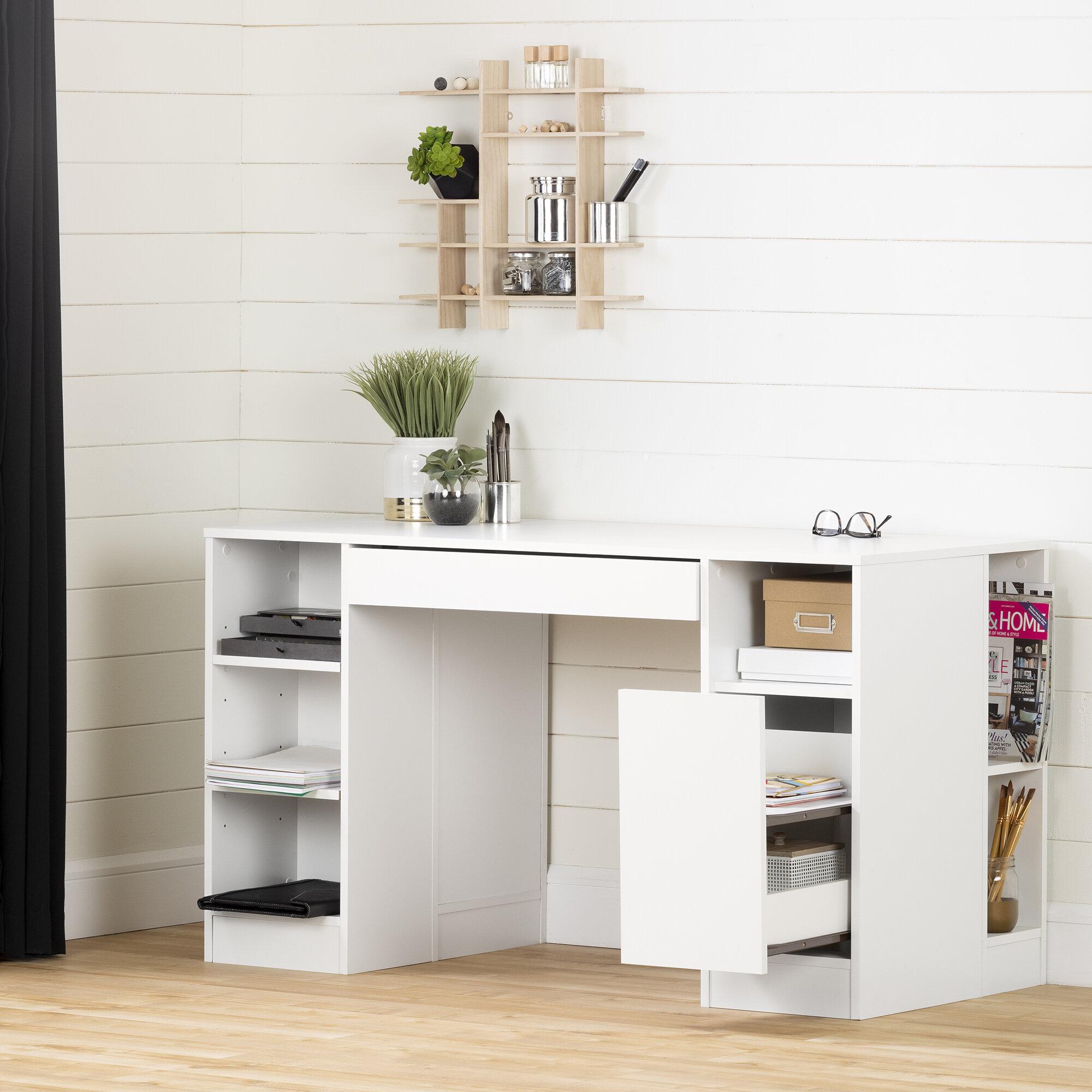 South Shore Crea 53 5 X 23 6 Craft Table Reviews Wayfair