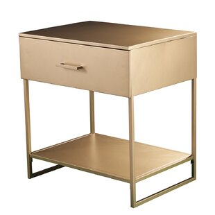 Rossmoor 1 Drawer Nightstand by Wrought Studio
