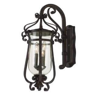 Kalco Hartford 3-Light Outdoor Wall Lantern