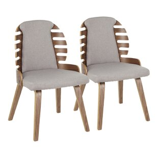 Garden Upholstered Dining Chair (Set of 2) George Oliver