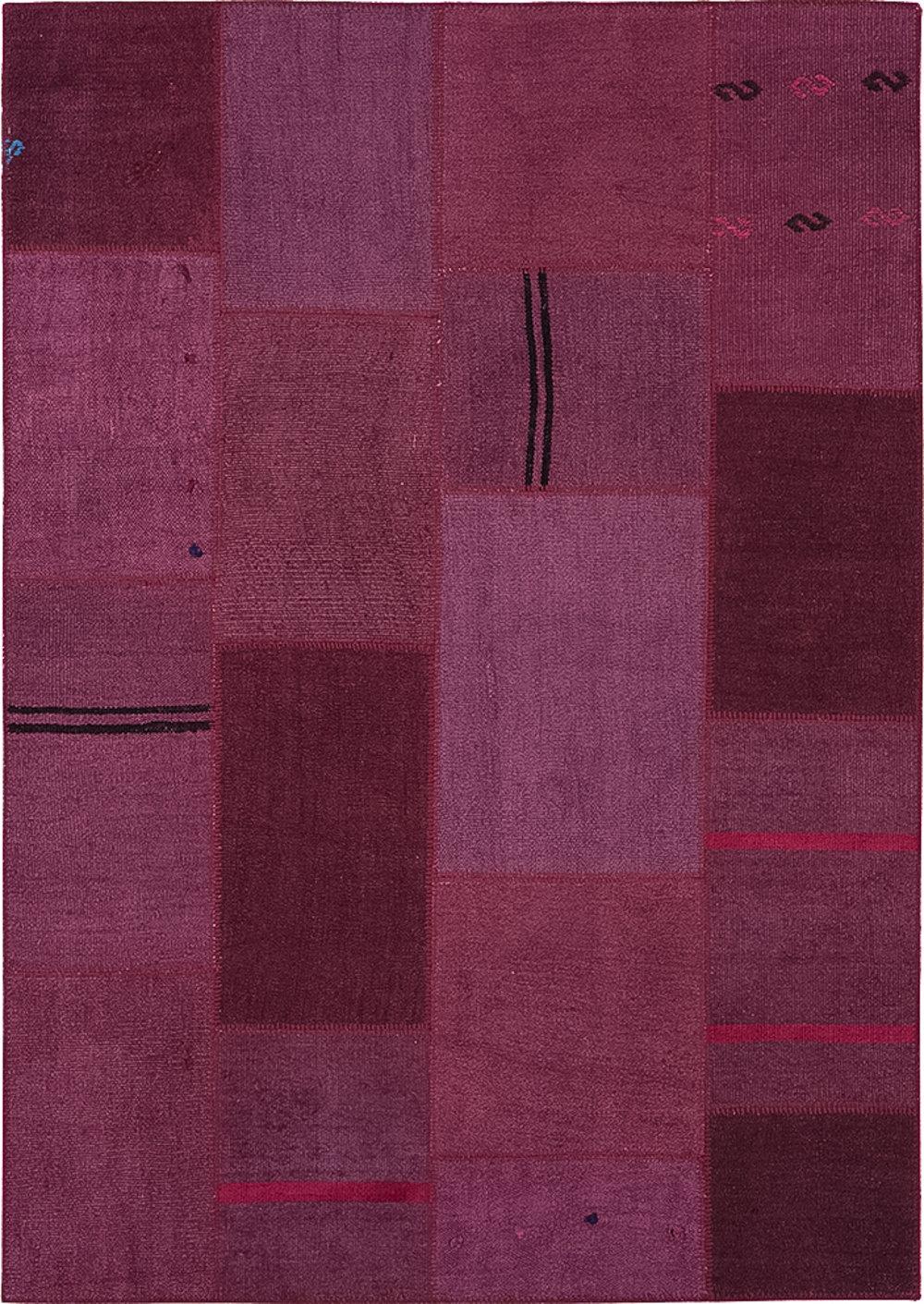 Bloomsbury Market Anja Hand Knotted Cotton Purple Area Rug Wayfair