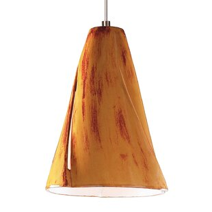 A19 Whirl 1-Light Cone Pendant