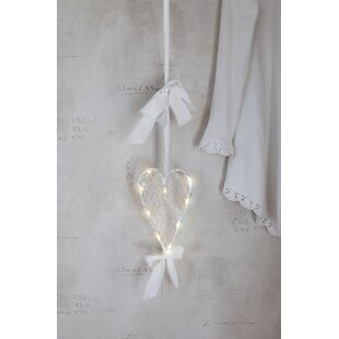 10-Light White Mammas Hjärta Lamp By The Seasonal Aisle