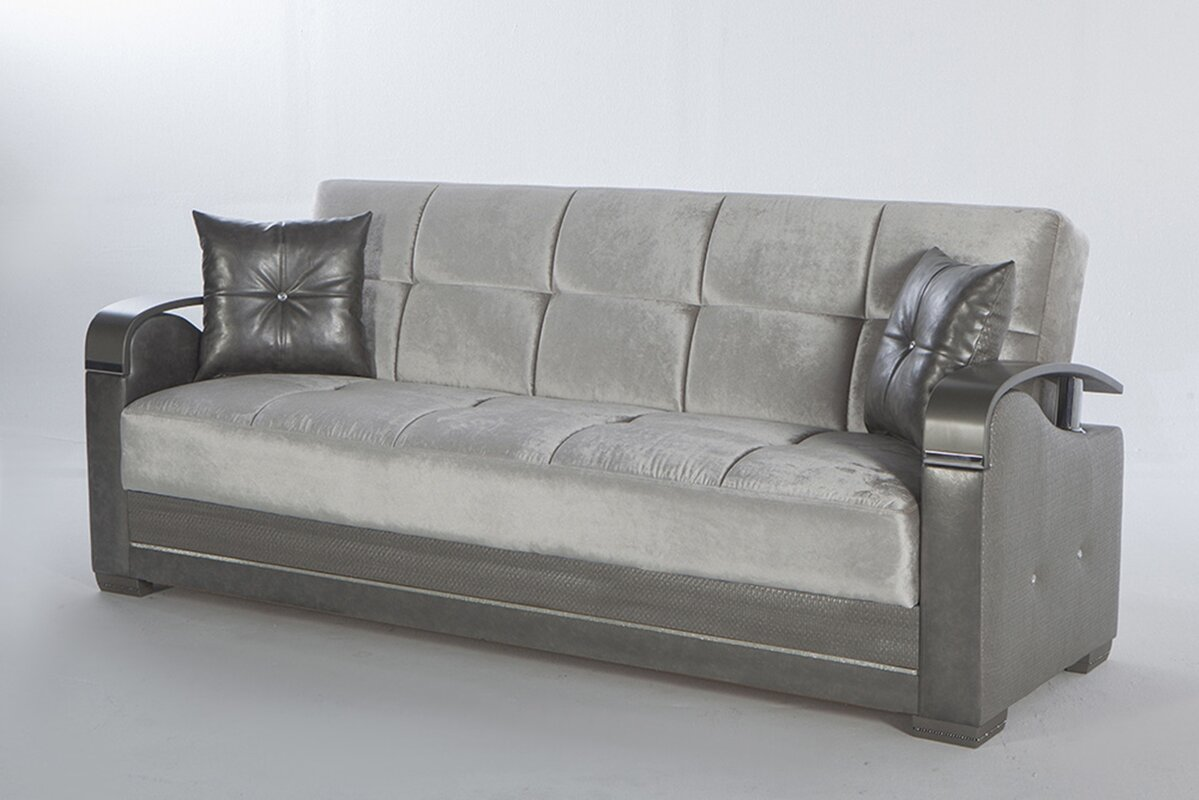 Luxury Sofa For Super Saving Price Orren Ellis Glyn Velvet 87 4 Square Arm Sofa