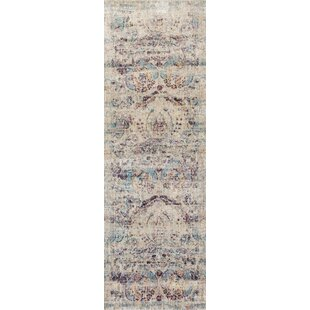 Emile Silver/Plum Area Rug by Birch Lane™