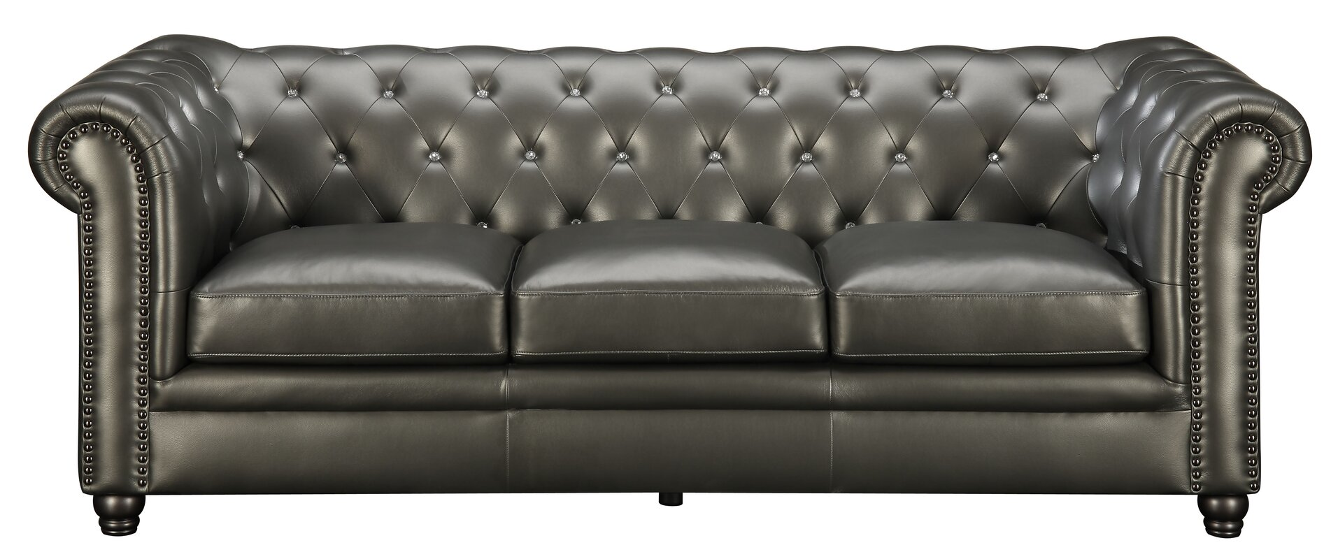 High Quality Vanallen Leather Chesterfield Sofa