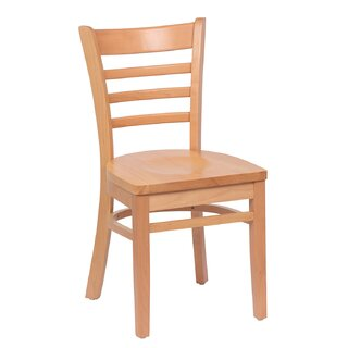 Ladder Back Solid Wood Dining Chair (Set of 2) by RoyalIndustries,Inc. SKU:EE380236 Information