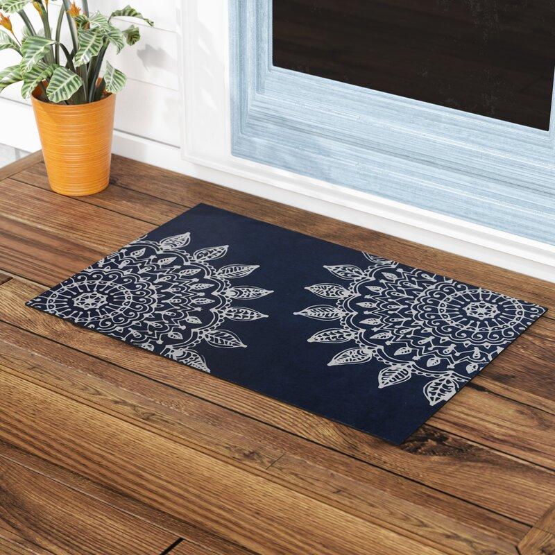 Elora Pinwheel Heena Indoor/Outdoor Doormat