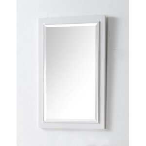 Rectangle Solid Wood Mirror