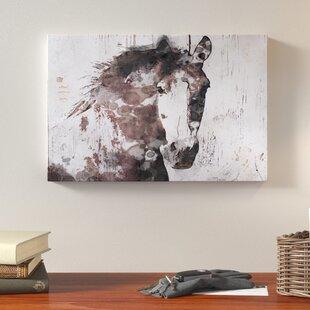 Gorgeous Horse Print On Canvas