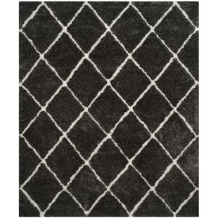 Comparison Lindsay Hand-Tufted Black/White Area Rug By Brayden Studio