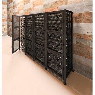 Locker 192 Bottle Floor Wine Rack