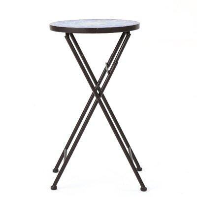 Ruhlman Folding  Stone/Concrete Side Table by Charlton Home