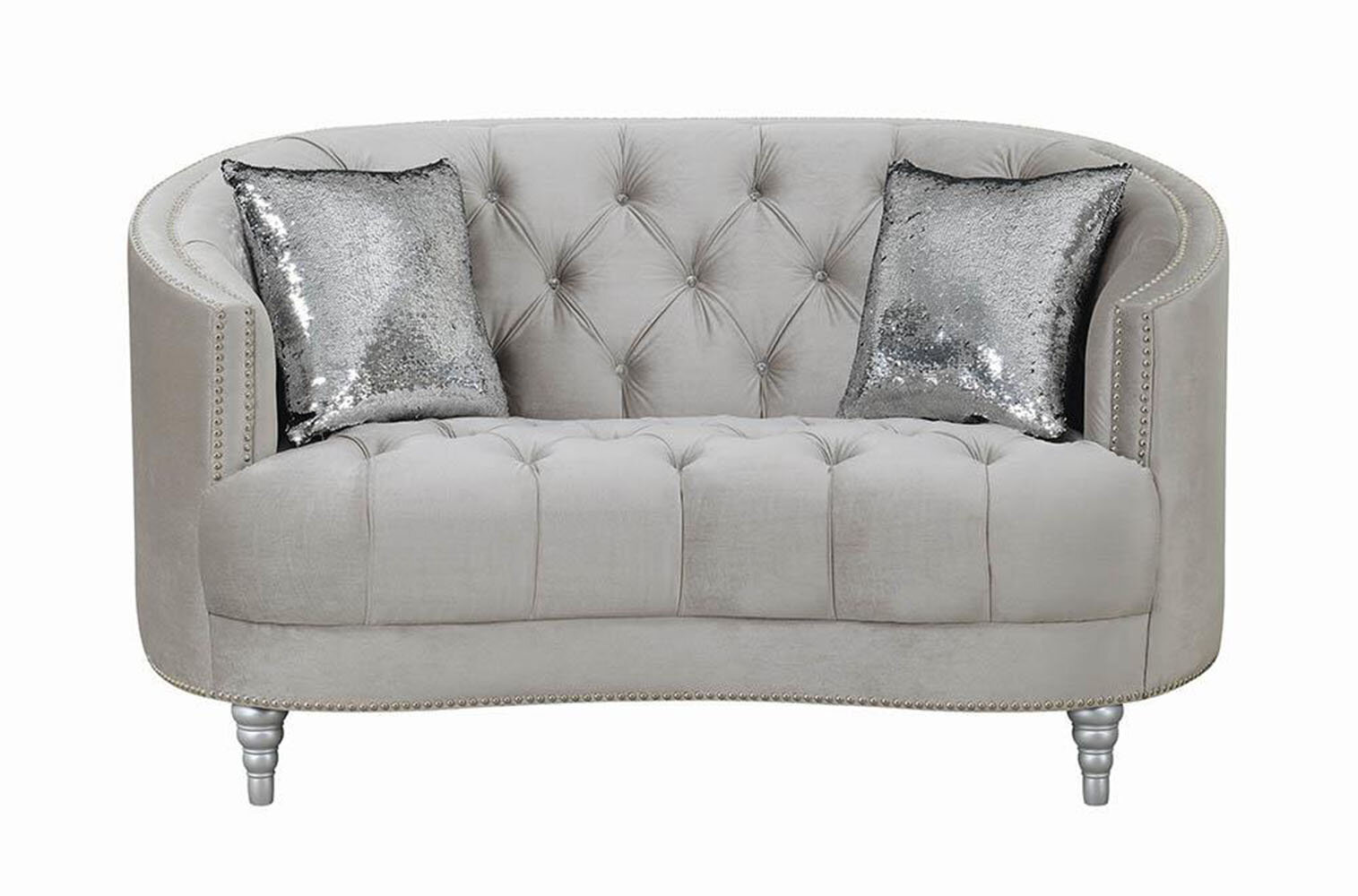 Curved Grey Loveseats You Ll Love In 2021 Wayfair
