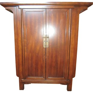 Merveilleux Ming Narrow Console 2 Door Accent Cabinet