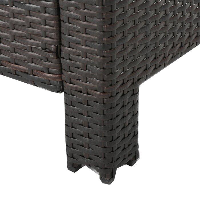 Strange Portola Patio Chair With Cushion Machost Co Dining Chair Design Ideas Machostcouk