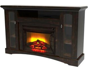 Devan TV Stand for TVs up to 62 with Electric Fireplace