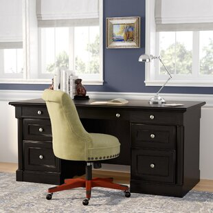 Henley Executive Desk by Three Posts