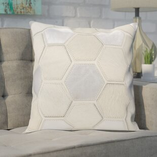 Ince Leather Throw Pillow