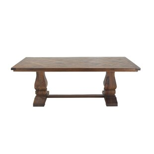 Union Rustic Grove Solid Wood Dining Table