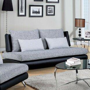 Zirke Leatherette Sofa by Orren Ellis Spacial Price