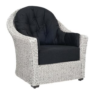 Isabella Patio Chair with Cushions by Woodard