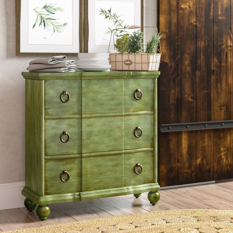 Bartouille 3 Drawer Chest