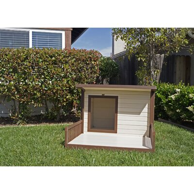 New Age Pet EcoChoice Rustic Lodge Style Dog House & Reviews | Wayfair