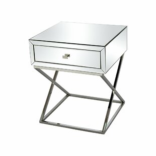 Ruth End Table with Storage by Rosdorf Park