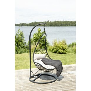 Review Simen Hanging Chair With Stand