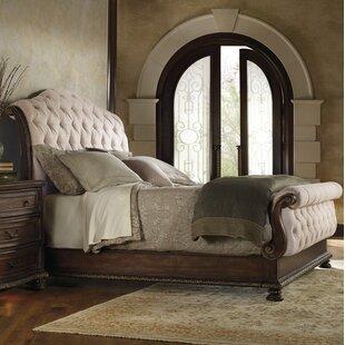 Hooker Furniture Adagio Upholstered Sleigh Bed