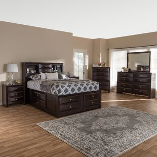 Petrick Queen Platform 6 Piece Bedroom Set by Latitude Run 2019 Sale