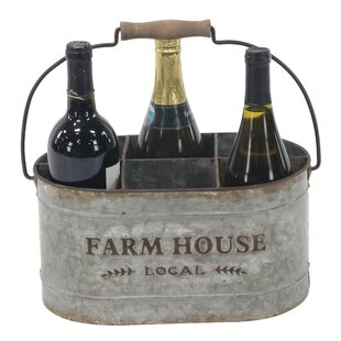 Saxton Farmhouse 6-Bottle Tabletop Wine B..