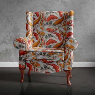 Lundeen Wingback Chair By Ebern Designs