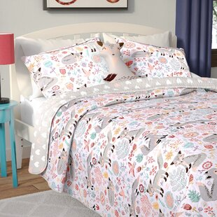 Levan Fox Reversible Quilt Set