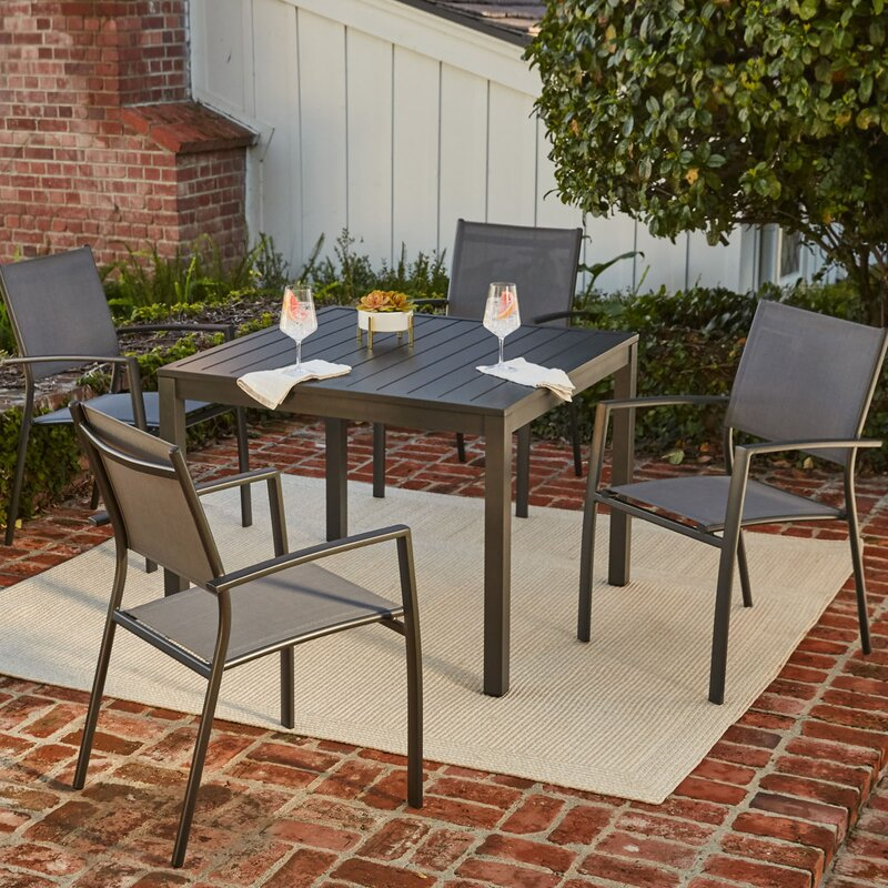 hanover naples 5 piece dining set & reviews | wayfair