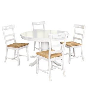 Pollmann 5 Piece Dining Set