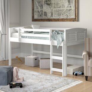 Manervia Twin Low Loft Bed