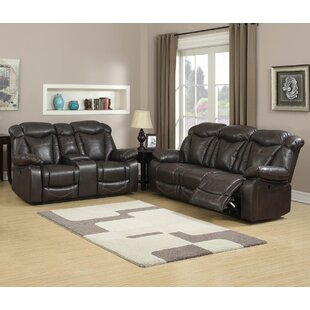 Living In Style Madison Reclining 2 Piece Living Room Set