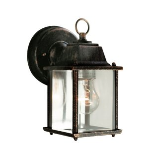 Online Reviews Terrazas 1-Light Outdoor Wall Lantern By August Grove