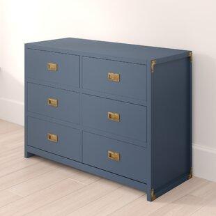 Greyleigh Benbrook 6 Drawer Double Dresser