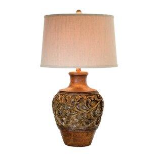 Top Applewood 30 Table Lamp By Fleur De Lis Living
