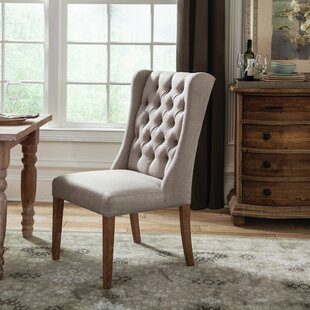 Check Prices Yamna Upholstered Dining Chair by Ophelia & Co. Reviews (2019) & Buyer's Guide