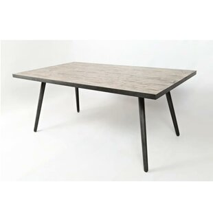 Aaden Wooden Dining Table by Union Rustic Reviews