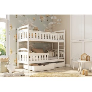 Farrell Single (3') Bunk Bed With Drawers By Harriet Bee
