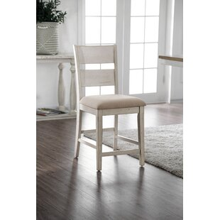 Krueger Upholstered Dining Chair (Set of 2) Rosecliff Heights