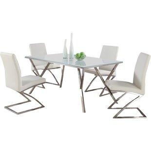 Orren Ellis Decimus 5 Piece Metal Dining Set
