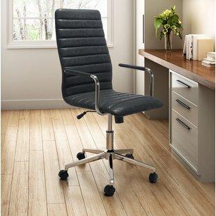Latitude Run America Vintage High-Back Executive Chair