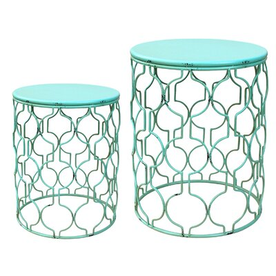 Kherodawala Metal Side Table by Latitude Run Design