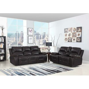Trower Reclining 2 Piece Living Room Set